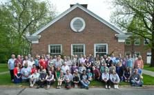 The FCNL community celebrates FCNL's 75th anniversary at Quaker Hill Conference Center in Richmond, Indiana, May 2018. Photo: Bond Photography.
