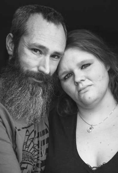Samantha and Brian Anderson, 29 and 35. Percocet then heroin addiction. One year clean in recovery.