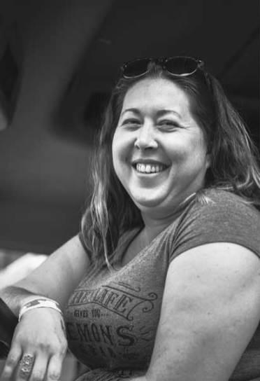 Sara Metcalf, 36. Heroin addiction. Three years clean.