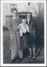 The author with her parents, Wilmar and Lorna Bernthal, in Valparaiso, Ind.