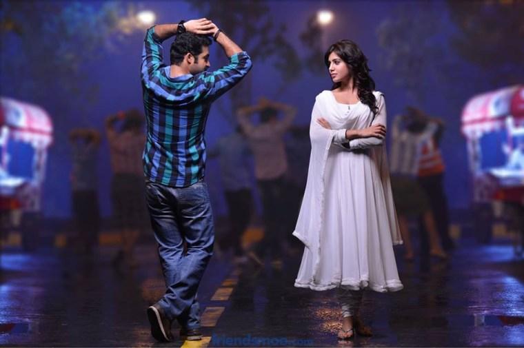 NTR and Samantha Still from Ramayya Vastavayya Movie - Friendsmoo