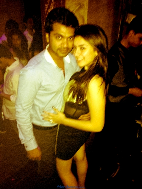Silambarasan and Hansika Unseen Photos - Friendsmoo