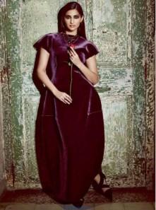 Sonam Kapoor Harpers Bazaar Magazine September 2013 Cover Photos and Photoshoot