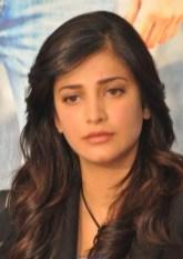 Indian Actress Shruti Hassan Latest Photos in Black Dress