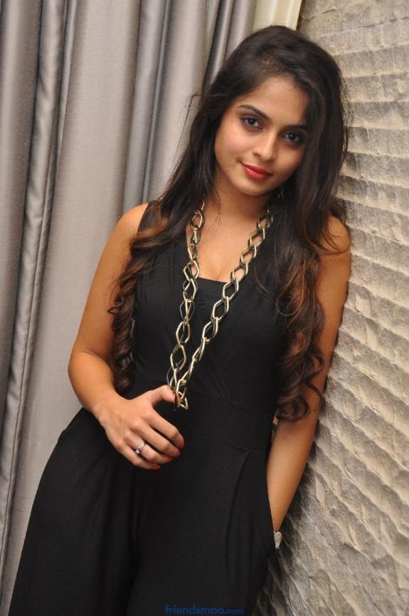 Actress Sheena Shahabadi Latest Photos in Black Dress