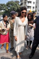 Deepika Padukone Photos in White Dress