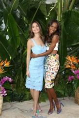 Lily Aldridge and Jasmine Tookes