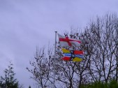 Bedfordshire Flag at Colmworth Golf Club