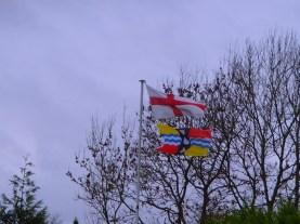 Bedfordshire Flag at Colmworth Golf Club