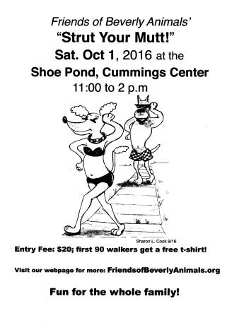 Strut Your Mutt 2016 Poster