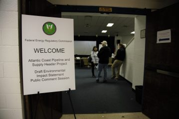 In Wilson, media shut out of FERC public listening session on Atlantic Coast Pipeline