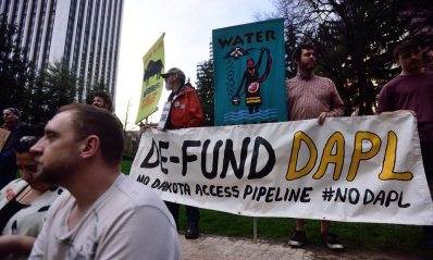 Dakota Access pipeline: ING sells stake in major victory for divestment push