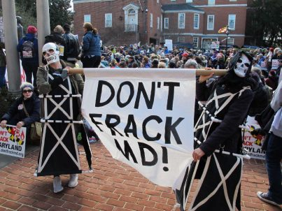 Maryland House overwhelmingly approves bill to ban fracking