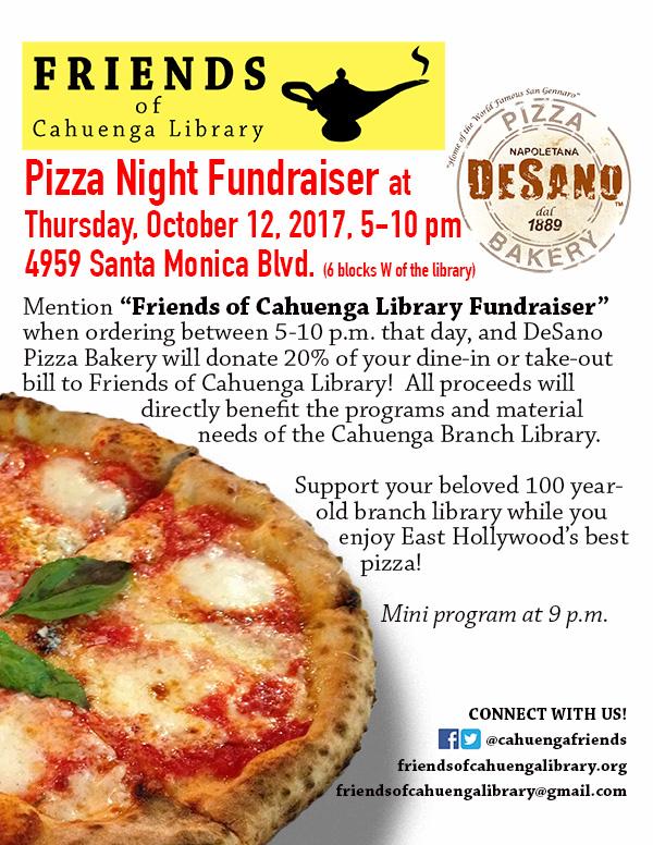 DeSano Fundraiser Flyer