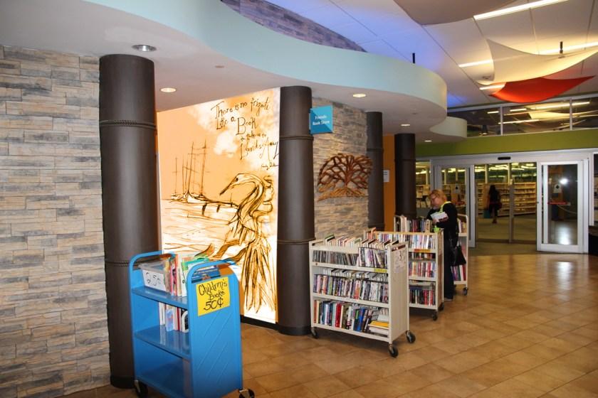 Bookstore Mural Concept