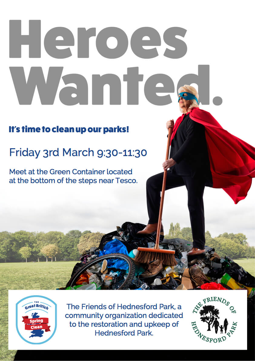 The Friends of Hednesford Park - Litter Pick