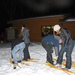 Snowshoeing at WI Interstate Park