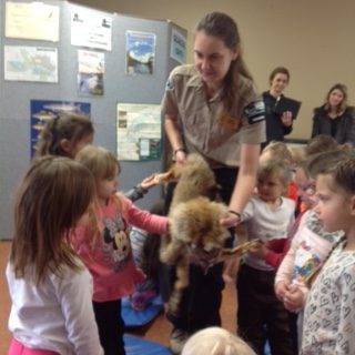 Ranger with fur for kids