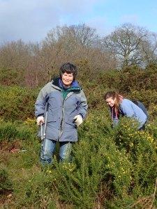 Volunteers Happy at Work
