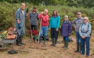 September 2017 Conservation Volunteers