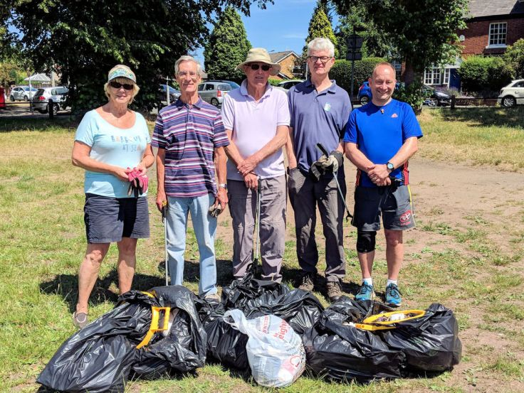 Litter-pick Volunteers