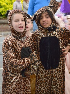 May Day Leopards