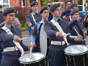 May Day Air Cadets Band