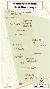 Nest Box Status Map - May 2020