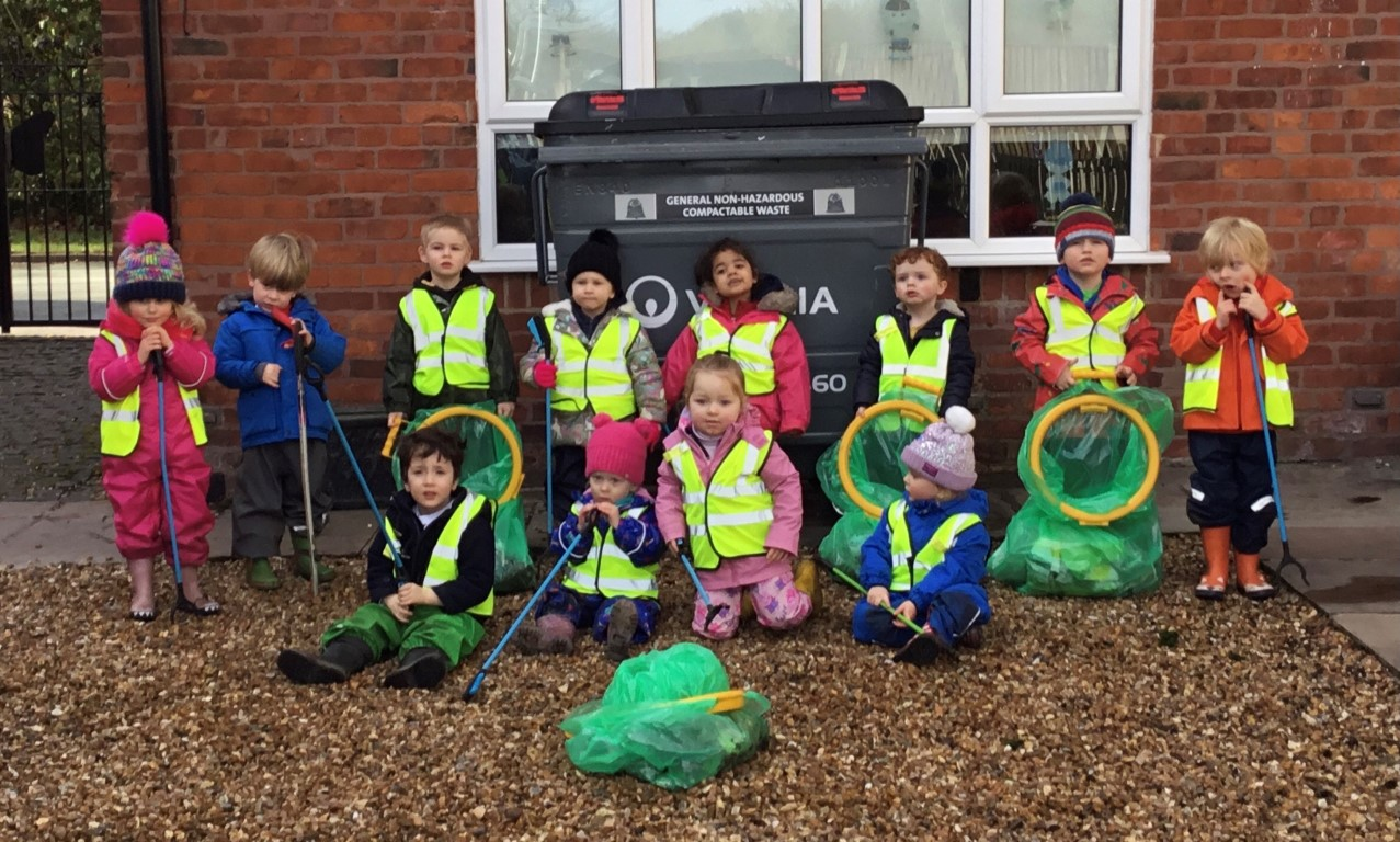 Poppies Litter Pick