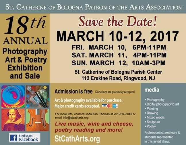 ST CATHERINE OF BOLOGNA ART EXHIBIT….meet the coordinators
