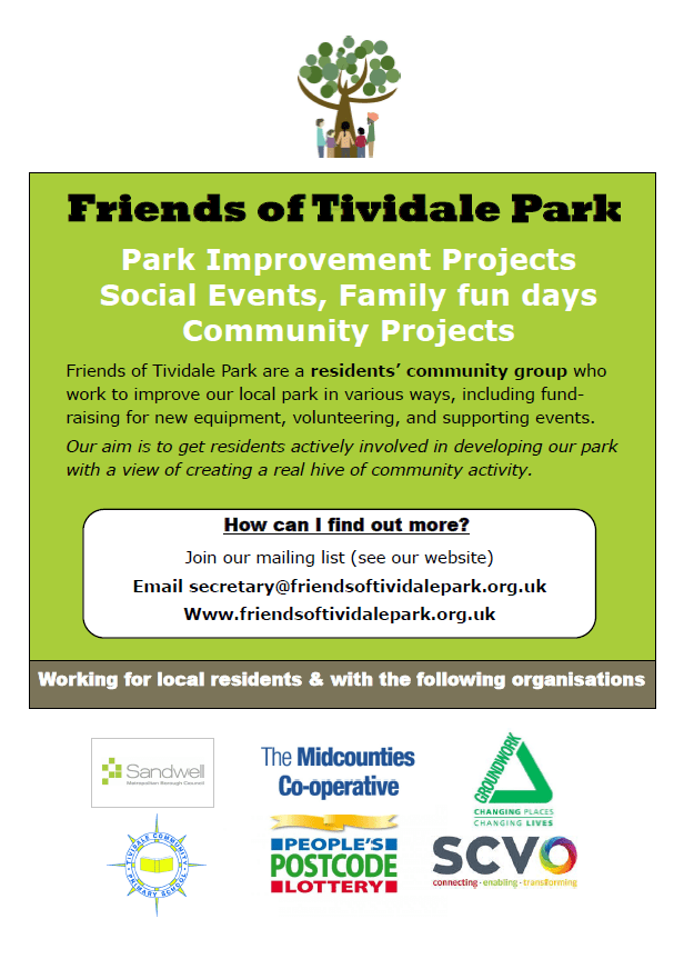 About Friends of Tividale Park