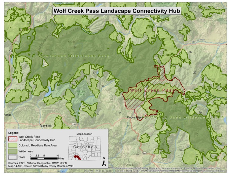 Wolf Creek Pass Landscape Connectivity Hub