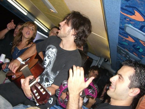 Bus Session Aerosmith 2007