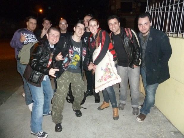 Galera Black Label Society em Curitiba