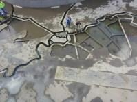 Waterliniemuseum binneplaats met waterspel 2