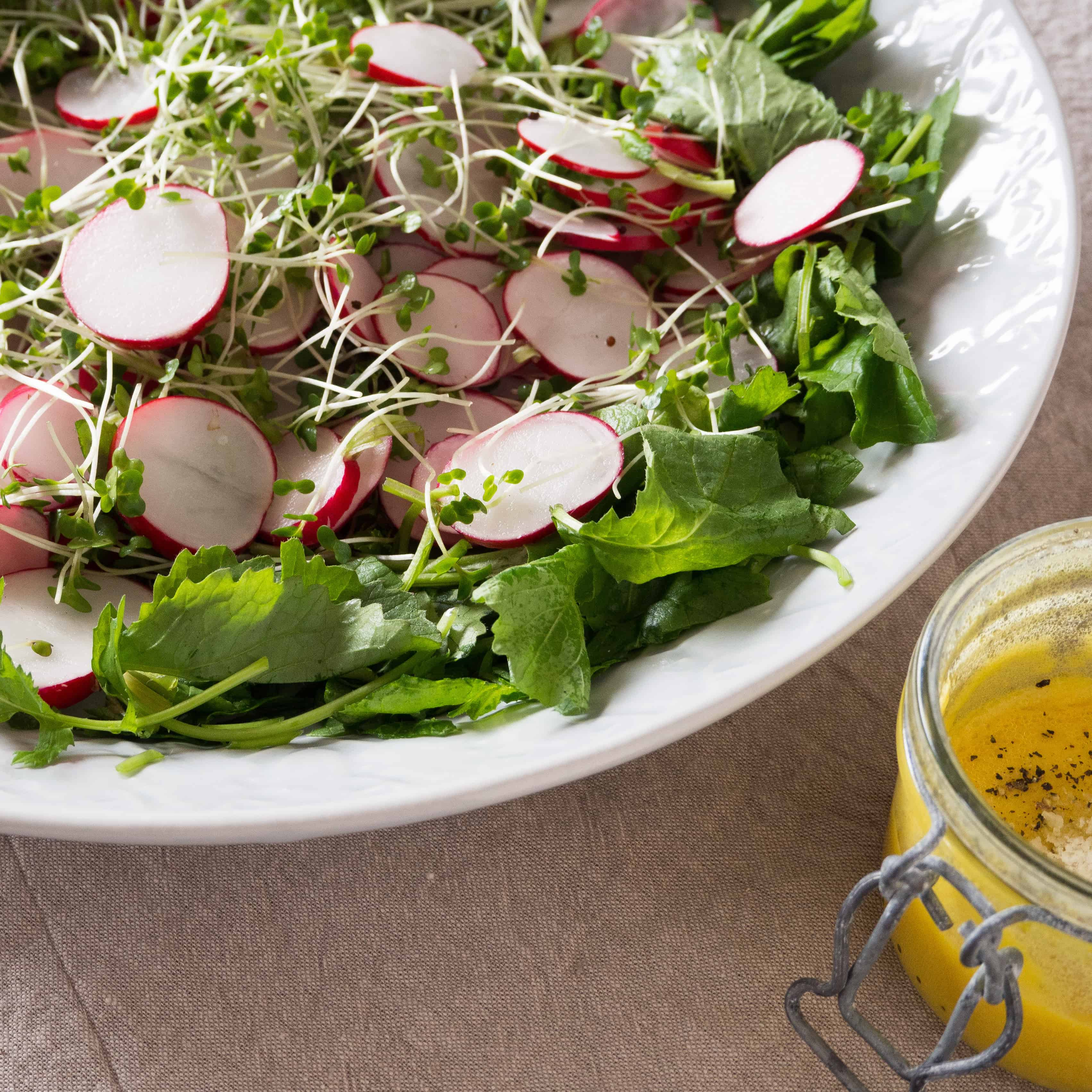 Radish and Cress Salad
