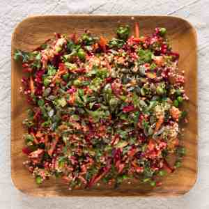 Beetroot and Millet Mega Salad