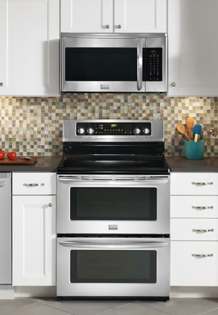 microwaves countertop built in over