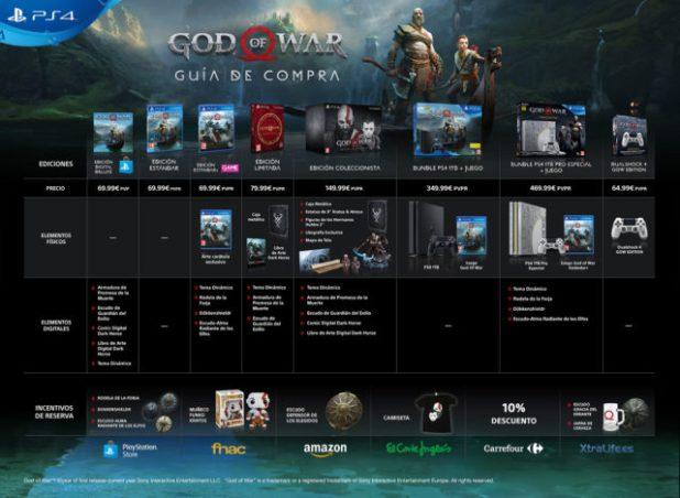 Las ventas globales de God of War sobrepasaron los 3,1 millones de unidades en sus tres primeros días
