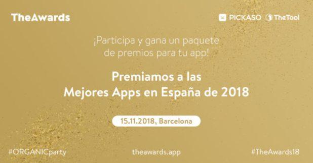 Premios 'TheAwards' a los mejores juegos y aplicaciones móviles en España de 2018