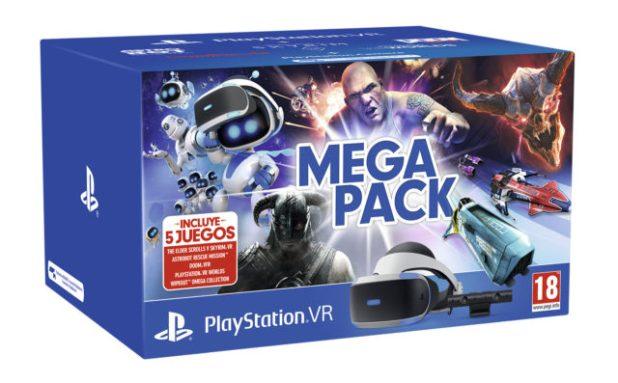 PlayStation anuncia el Mega Pack PlayStation VR con cinco grandes videojuegos