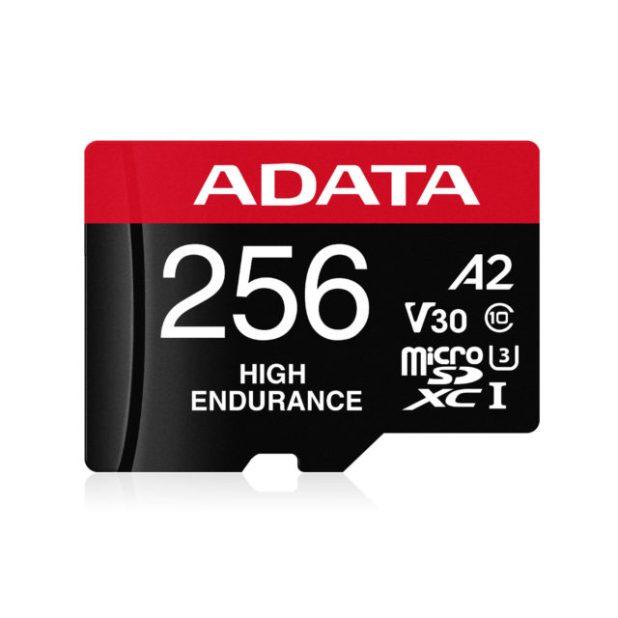 ADATA lanza microSDXC / SDHC de alta resistencia. Tarjetas de memoria UHS-I. Hecho para grabar 24/7.