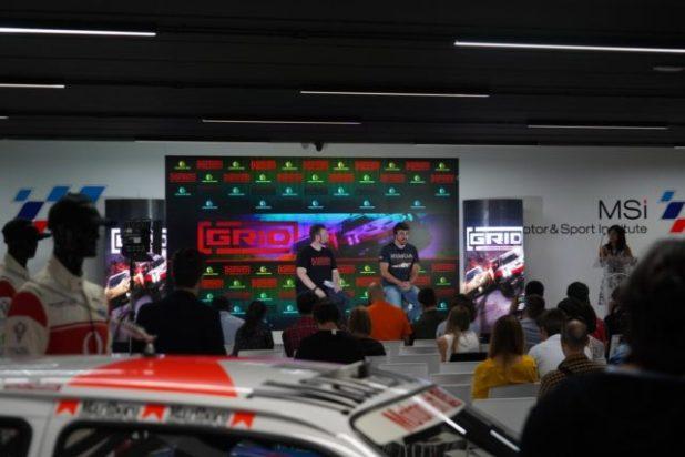GRID se presenta en Madrid con Fernando Alonso