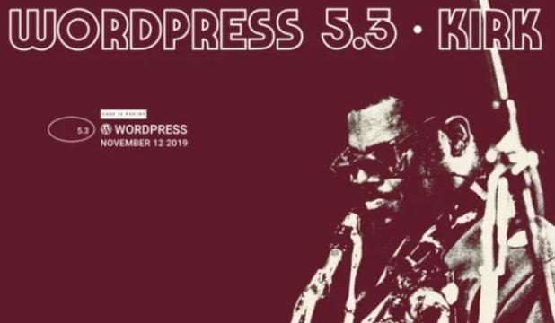 Llega nueva versión del CMS Wordpress 5.3