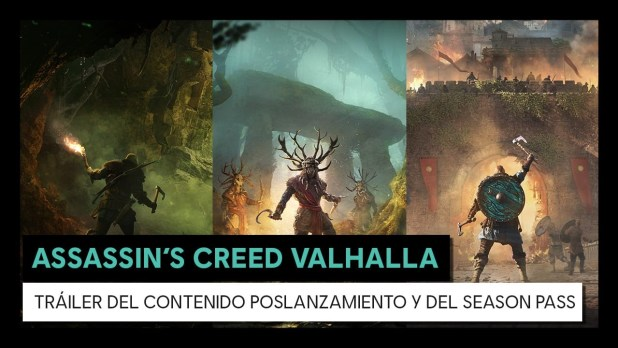 Ubisoft da a conocer los detalles del plan de poslanzamiento de Assassin's Creed Valhalla