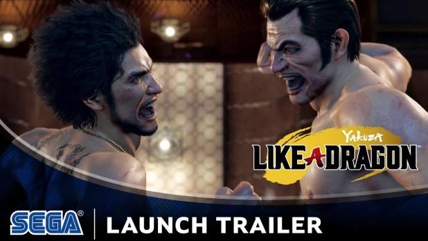 Yakuza Like a Dragon ya a la venta - Tráiler de lanzamiento