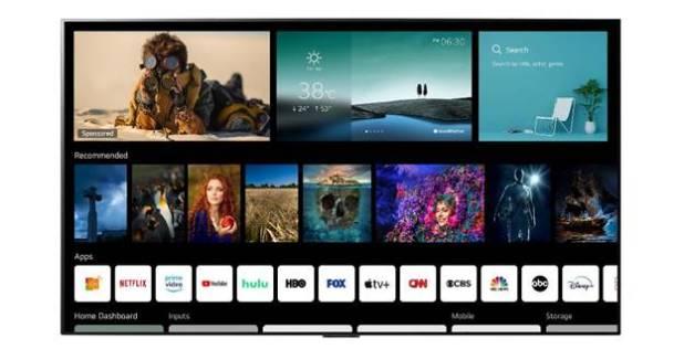 La plataforma de Smart TV de LG se actualiza a webOS 6.0