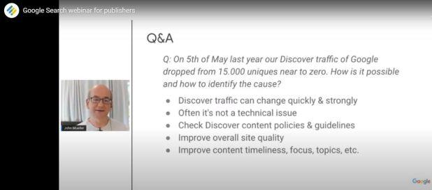 Un poco de SEO: Seminario web sobre la Búsqueda de Google para editores