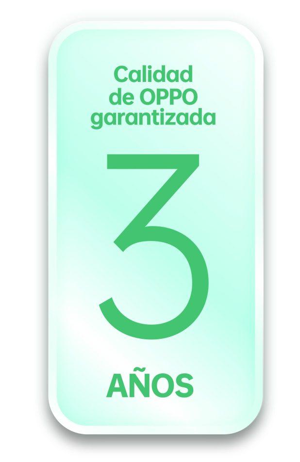 OPPO, único fabricante de móvilesen ampliar a 3 años la garantía de sus dispositivos Premium