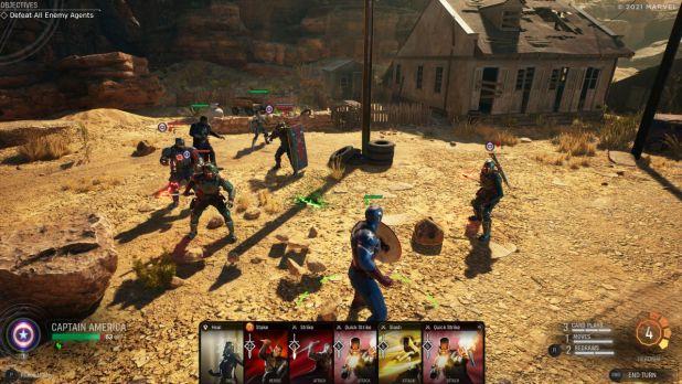 Marvel's Midnight Suns muestra la nueva generación de los juegos tácticos y de narrativa en su presentación del gameplay